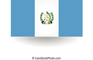 Guatemala Flag - Official flag of Guatemala.