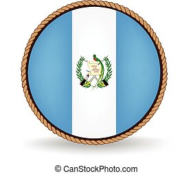 Guatemala Seal - Flag seal of Guatemala.