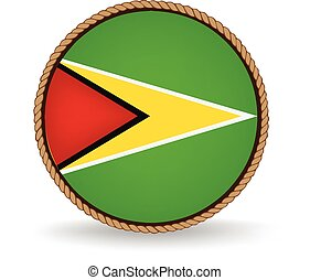 Guyana Seal - Flag seal of Guyana