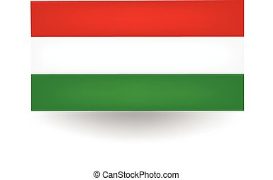 Hungary Flag - Official flag of Hungary.