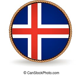 Iceland Seal - Flag seal of Iceland.