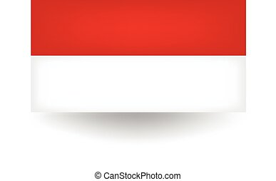 Indonesia Flag - Official flag of Indonesia.