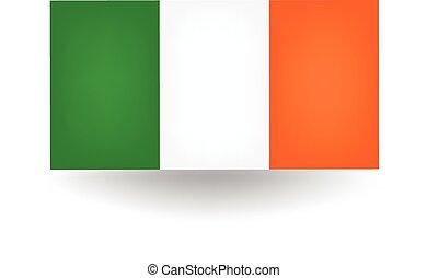 Ireland Flag - Official flag of Ireland