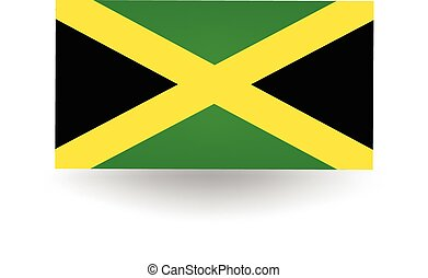 Jamaica Flag - Official flag of Jamaica