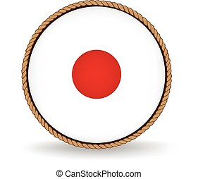 Japan Seal - Flag seal of Japan