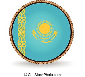 Kazakhstan Seal - Flag seal of Kazakhstan