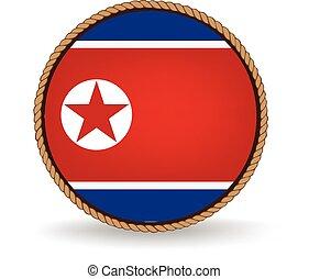 North Korea Seal