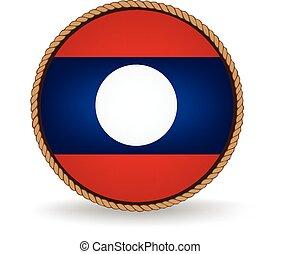 Laos Seal - Flag seal of Laos.