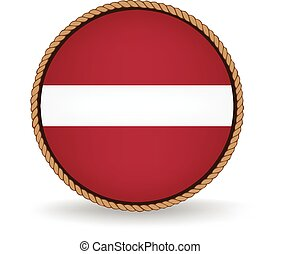 Latvia Seal - Flag seal of Latvia