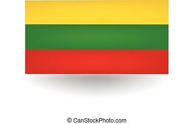 Lithuania Flag - Official flag of Lithuania.