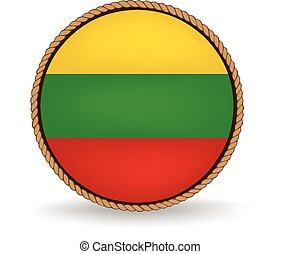 Lithuania Seal - Flag seal of Lithuania.