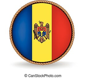 Moldova Seal - Flag seal of Moldova.