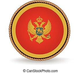 Montenegro Seal - Flag seal of Montenegro.
