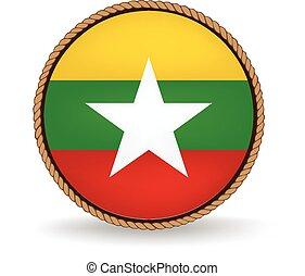 Myanmar Seal - Flag seal of Myanmar.