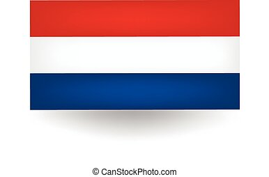 Netherlands Flag - Official flag of the Netherlands.