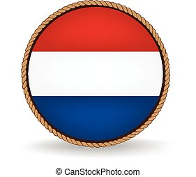 Netherlands Seal - Flag seal of the Netherlands