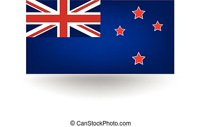 New Zealand Flag - Official flag of New Zealand