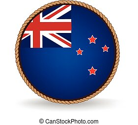 New Zealand Seal - Flag seal of New Zealand.