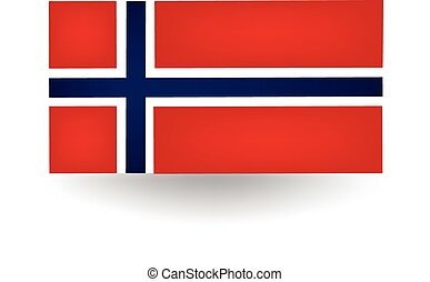 Norway Flag - Official flag of Norway