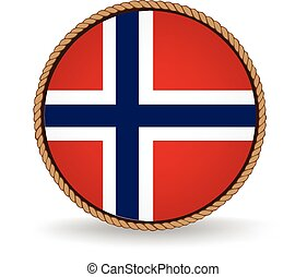 Norway Seal - Flag seal of Norway