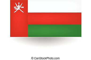 Oman Flag - Official flag of Oman