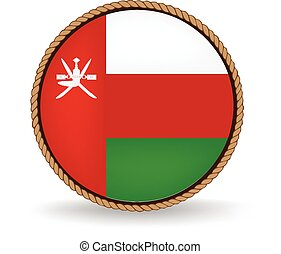 Oman Seal - Flag seal of Oman.
