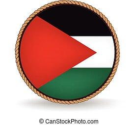Palestine Seal - Flag seal of Palestine