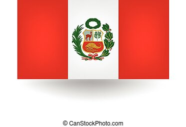 Peru Flag - Official flag of Peru