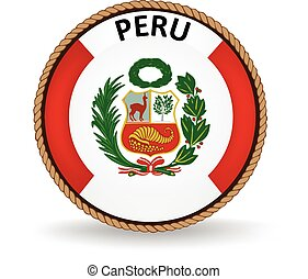 Peru Seal - Flag seal of Peru