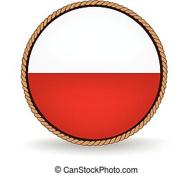 Poland Seal - Flag seal of Poland.