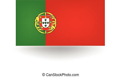 Portugal Flag - Official flag of Portugal.