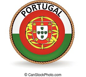 Portugal Seal - Flag seal of Portugal.