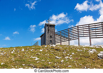 Dachstein Chapel - Chapel at the Dachstein on the path to...