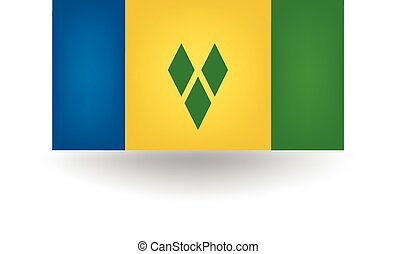 Saint Vincent And Grenadines Flag - Official Saint Vincent...