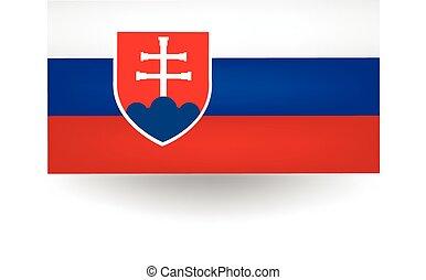 Slovakia Flag - Official flag of Slovakia.