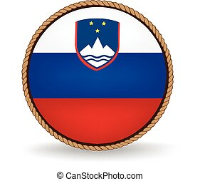 Slovenia Seal - Flag seal of Slovenia.
