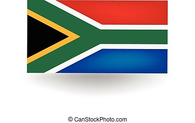 South Africa Flag - Official flag of South Africa