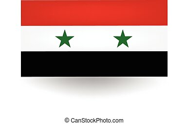 Syria Flag - Official flag of Syria
