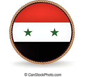 Syria Seal - Flag seal of Syria