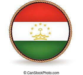 Tajikistan Seal - Flag seal of Tajikistan.