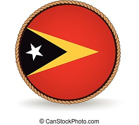 East Timor Seal - Flag seal of East Timor