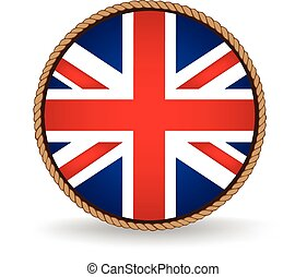 United Kingdom Seal - Flag seal of the United Kingdom