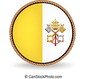 Vatican City Seal - Flag seal of Vatican City