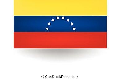 Venezuela Flag - Official flag of Venezuela.