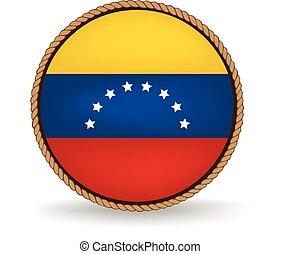 Venezuela Seal - Flag seal of Venezuela.