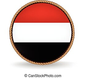 Yemen Seal - Flag seal of Yemen.