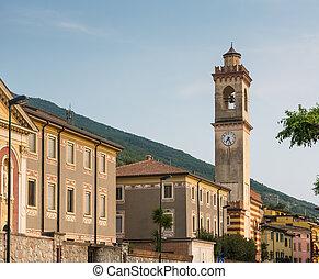 Castelletto di Brenzone - Tower in Castelletto di Brenzone...