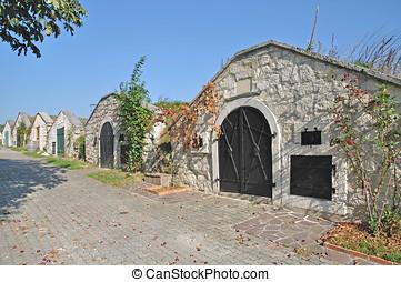 Wine Cellar,Breitenbrunn,Austria - Wine Cellar at Wine...