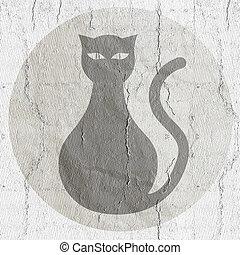 Button cat - Creative design of Button cat