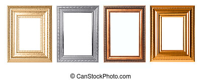 Rectangular Decorative Frames For Your Project - Four Frames...